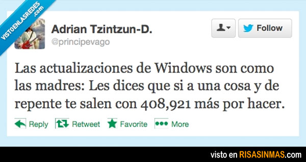 Windows y las madres