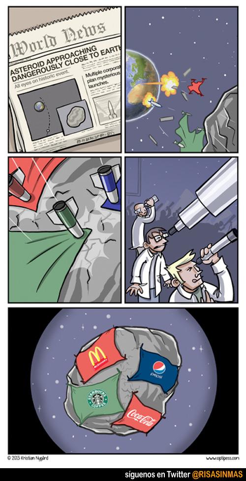 Asteroide peligroso se acerca a la tierra