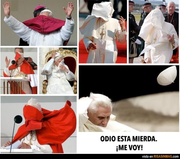 Benedicto XVI lo deja
