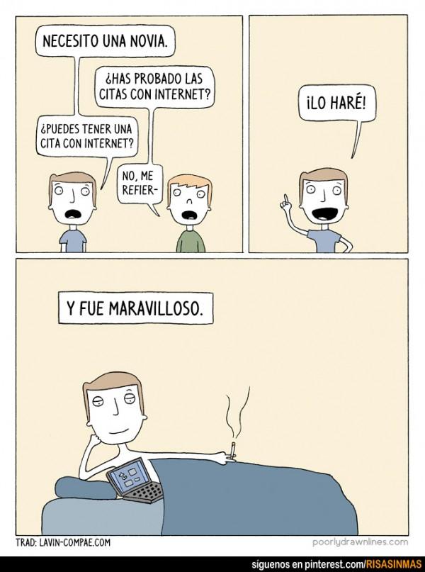 Citas por Internet
