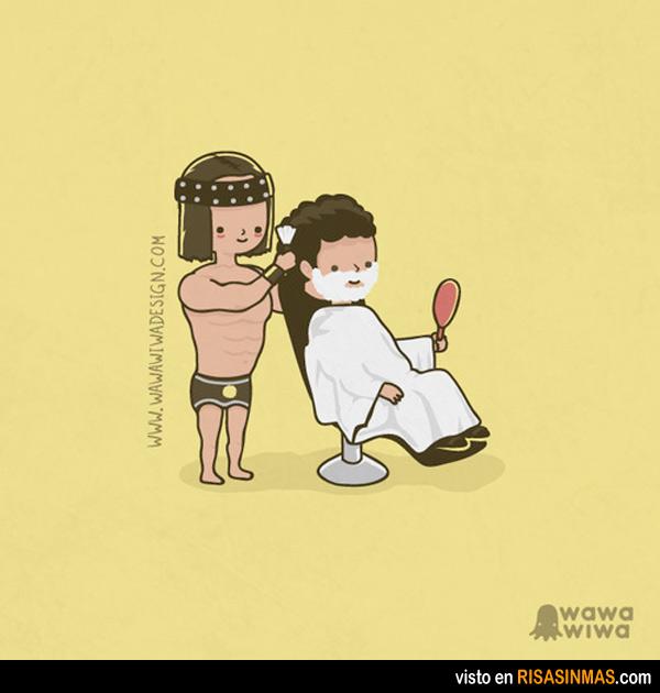 Conan el barbero