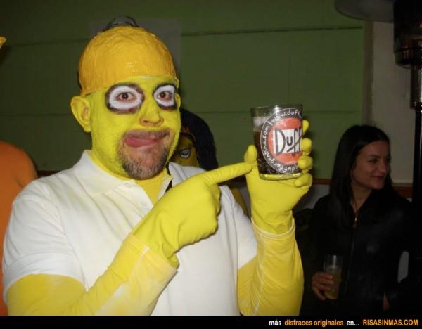 Disfraz de carnaval horroroso