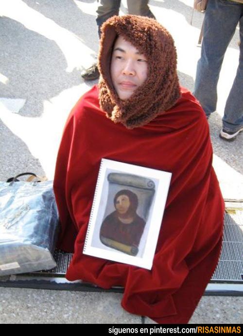 Disfraces originales: Cristo de Borja