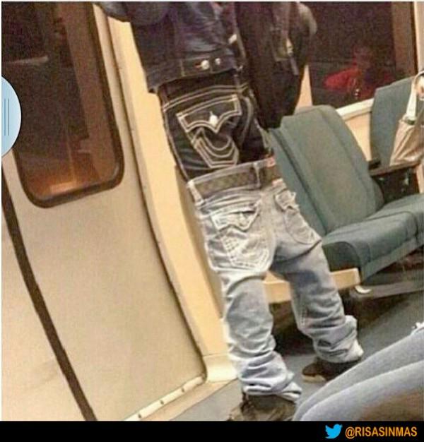 La inquietante moda del doble pantalón