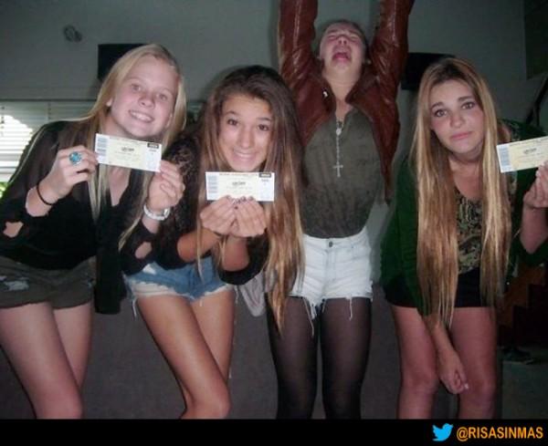 ¿Quién no tiene entradas para Justin Bieber?
