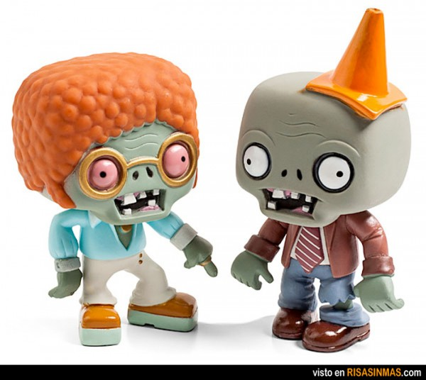 Figuritas de plantas vs zombies