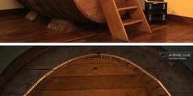 Hoteles originales: barril de vino