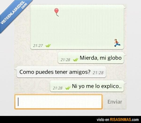 Imagen para WhatsApp: mi globo