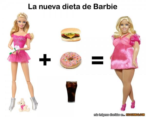 La nueva dieta de Barbie