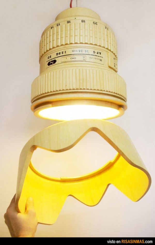 Lámpara para fotógrafos