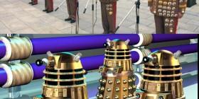 Parecidos razonables: militares chinos y Daleks