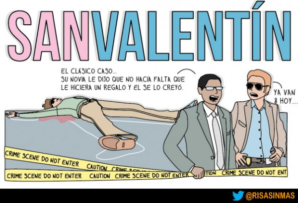 Muerto por San Valentín