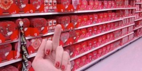 Odio San Valentín: descripción gráfica