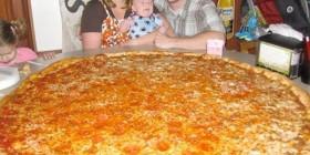 La pizza familiar que NO podrás comerte