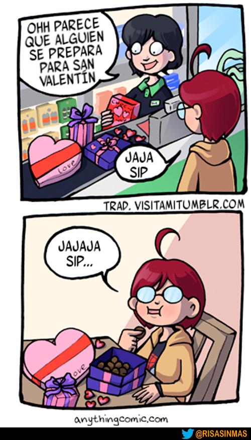 Preparándose para San Valentín