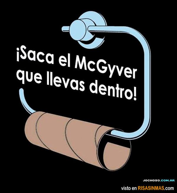 Saca el McGyver que llevas dentro