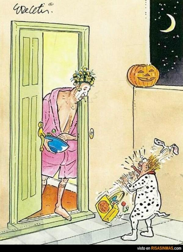 Susto en Halloween