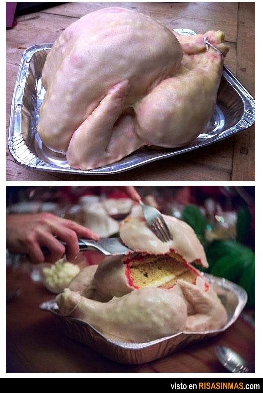 Tartas originales: tarta de pollo