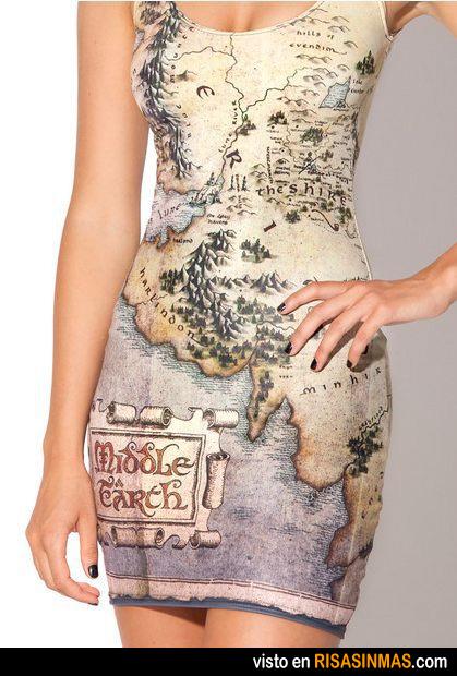 Vestido de Tierra Media