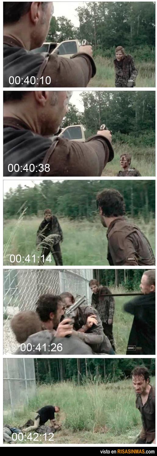The Walking Dead: el zombie inmortal