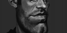 Caricatura de Ben Affleck