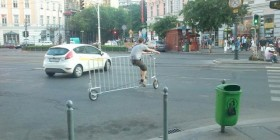 La bicicleta valla