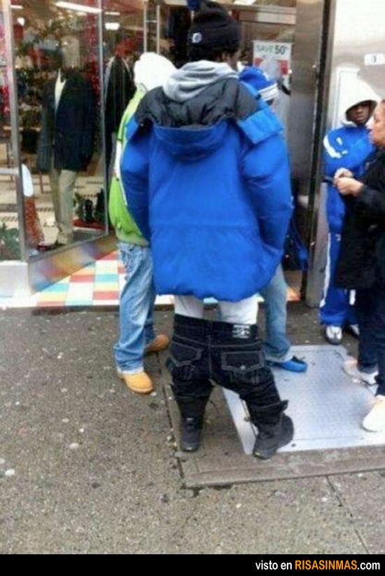 Pantalones caídos Extreme Edition