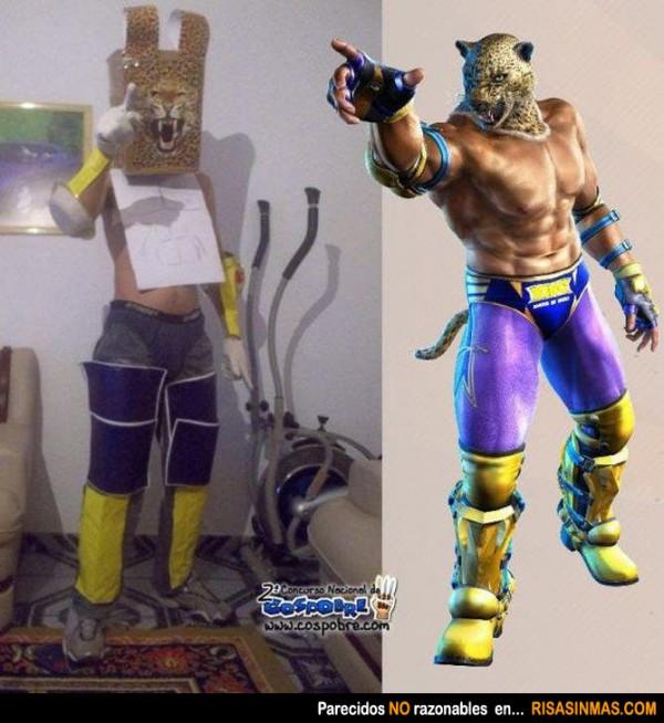Parecidos NO razonables: King (Tekken)