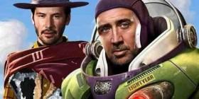 Woody y Buzz humanizados