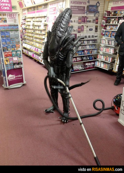Día del Alien trabajador