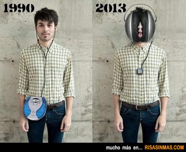 Evolución de la música portátil