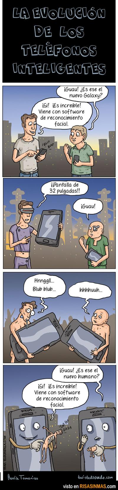 Evolución de los teléfonos inteligentes