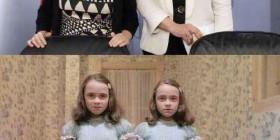 Parecidos razonables: gemelas de el resplandor