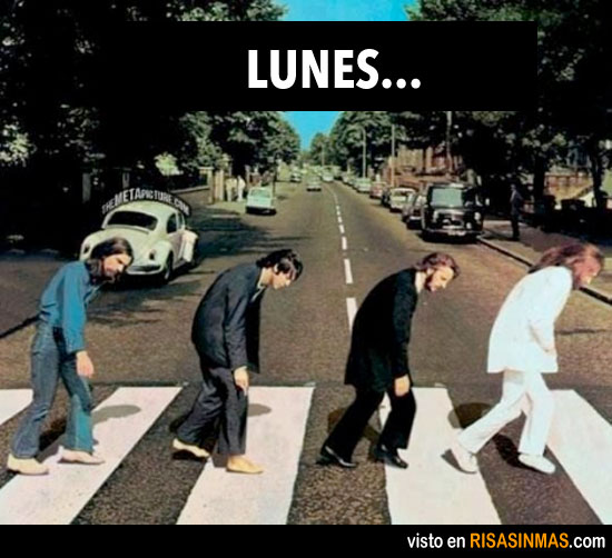 Lunes en Abbey Road