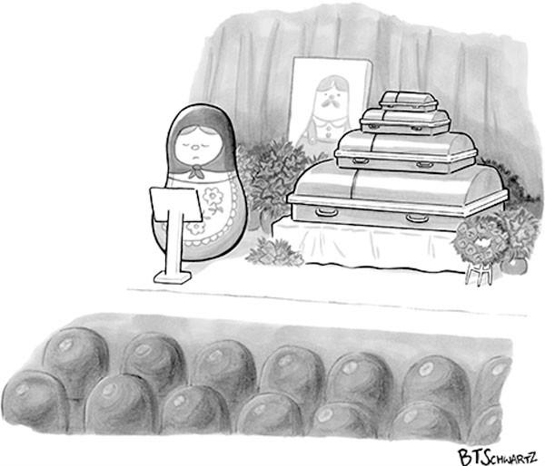 Funeral de una matrioshka
