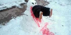 Muñecos de nieve originales: asesino
