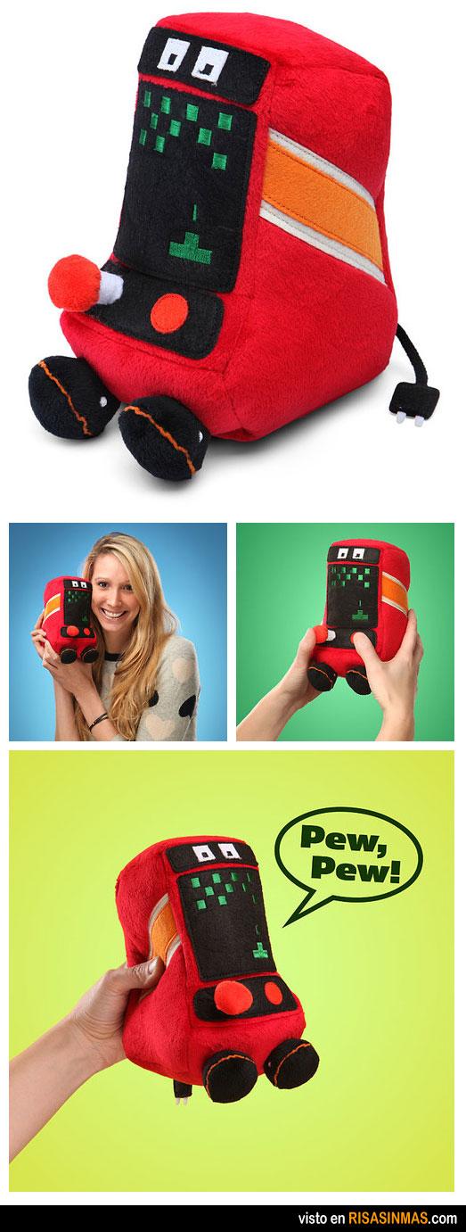 Pew Pew, el peluche arcade que quieres tener