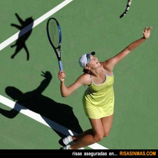 Saque de tenista