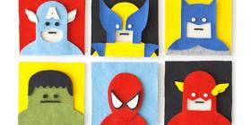 Superhéroes de fieltro
