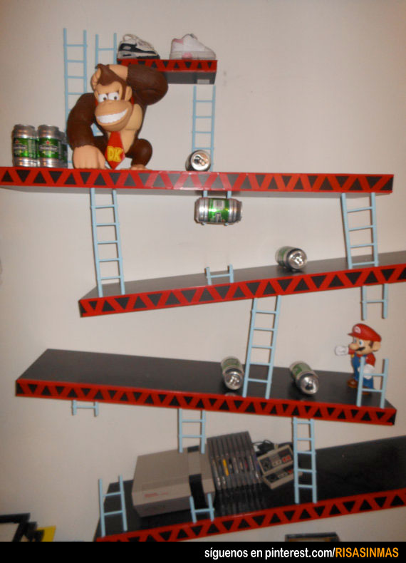 Estanter as originales donkey kong - Estanterias originales ...