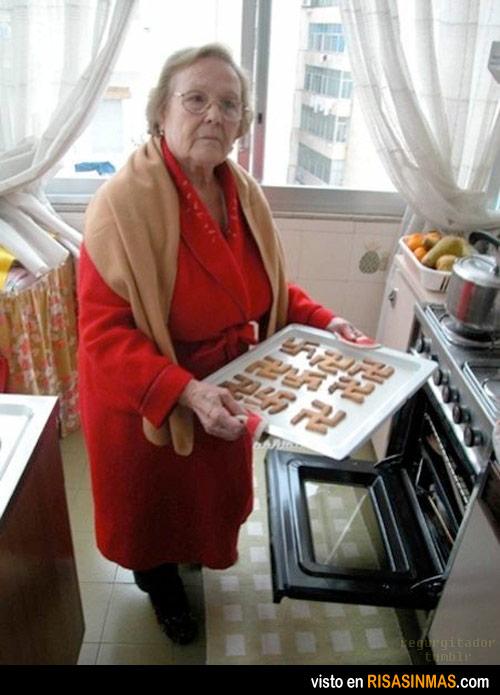 Abuela, lo estás haciendo muy mal