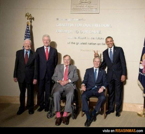 El lado gamberro de Barack Obama