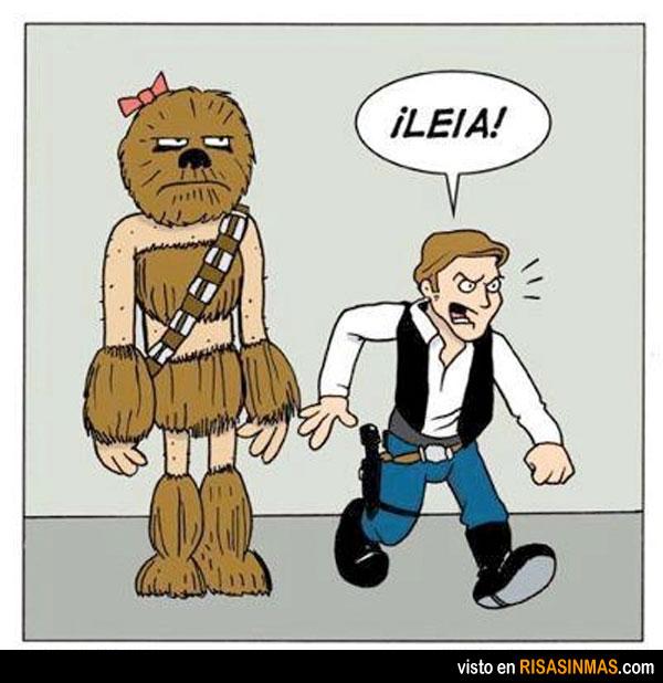 ¿Qué has hecho con Chewbacca?
