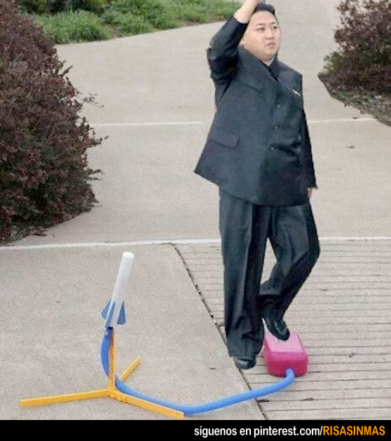 Corea del Norte lanza su primer misil