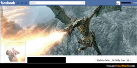 Portadas Facebook: Dragón
