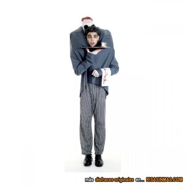 Disfraces originales: Mayordomo sin cabeza