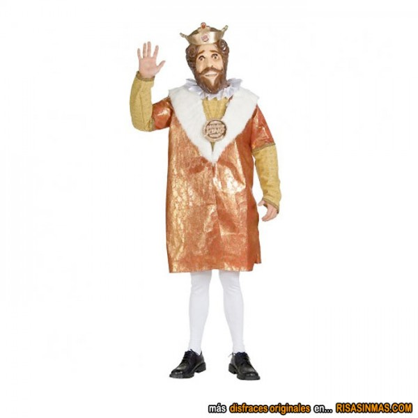 Disfraces originales: Rey de Burger King