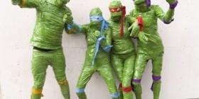 Disfraces desastrosos: Tortugas Ninja Jóvenes Mutantes