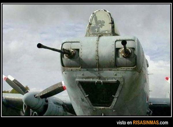 El avión más feliz del mundo