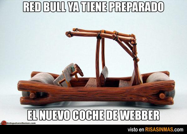 El nuevo coche de Webber